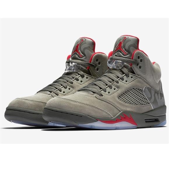 d05ba7edd888a Jordan Shoes   New 5 Retro P51 Camo Dark Stucco Size 11   Poshmark